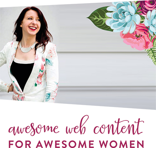 Web content for women entrepreneurs